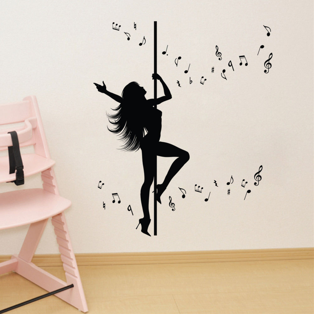 Wall stickers extra - Aliexpress Com Buy New Caved Dancing Women Wall Stickers Extra Large 127x106cm Wall Art Decals Diy Home Decoration Sw 07 From Reliable Home Decorative