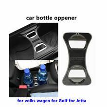 Alta qualidade de Aço Inoxidável abridor de Lata Abridor de Lata-abridor Multifuncional abridor de Garrafa Abridor de Latas Abertas para a Volkswagen para Golf 5 6 para Jetta