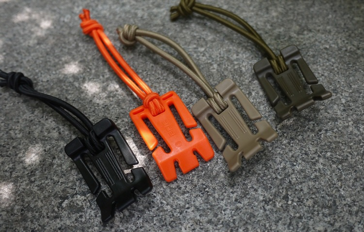 5 Pcs/lot ITW Webdom Web Dominator Molle Backpack Carabiner  EDC Tool  Elastic Rope Webbing Buckle Winder