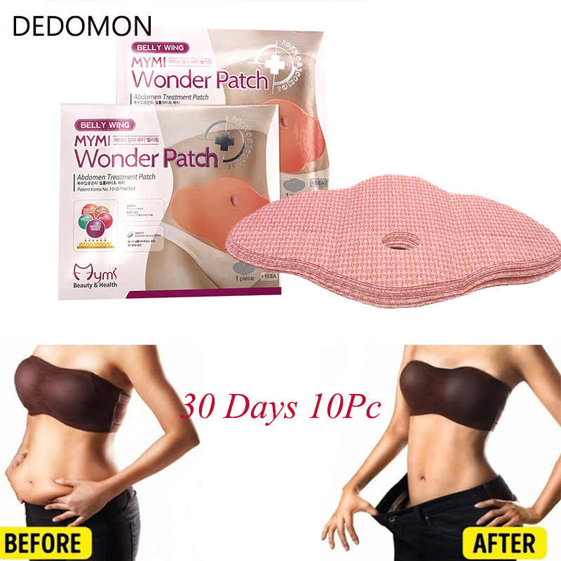 30 Days Slimming Patch Belly Slim Patch Abdomen Weight Loss Fat Burning Navel Stick Slimer Face Lift Tool Anti Cellulite Slimmer