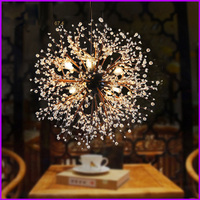 Industrial Wind Chandelier Personality Creative Arts American Restaurant Cafe Clothing Store Retro Nordic Loft Pendant Lights