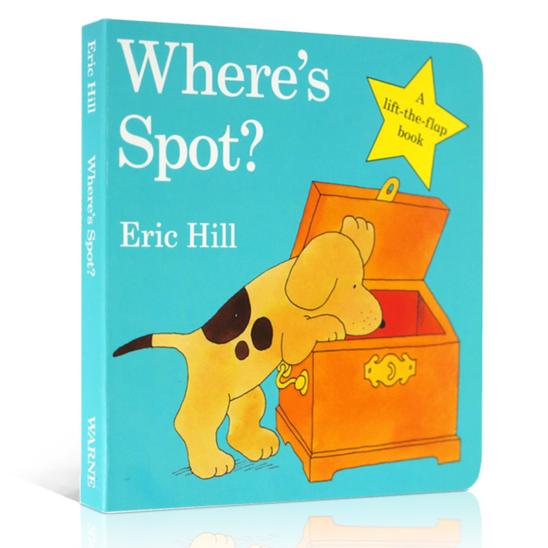 Best Selling Books Where's Is Spot ? English Picture Books For Kids Baby Gift