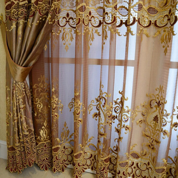 New Arrivals Top Thermal Blackout Dubai Curtain Fabric-in Curtains ...