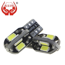 KEIN 10PCS 8SMD Canbus T10 w5w 194 168 auto car led Side Marker light Interior Door