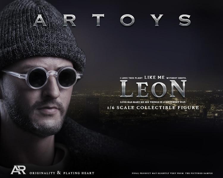 "ARTOYS Leon killer Jean Reno 1/6 Figure 12"" Collectible Action Figure"