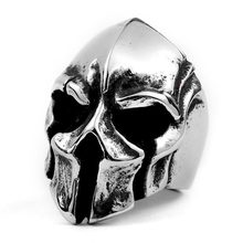 LMIKNI Gothic Punk Men Ring 2019 Vintage Fashion Hiphop Cross Skull Rings For Men Jewelry Accessories Gift Drop Shipping(China)