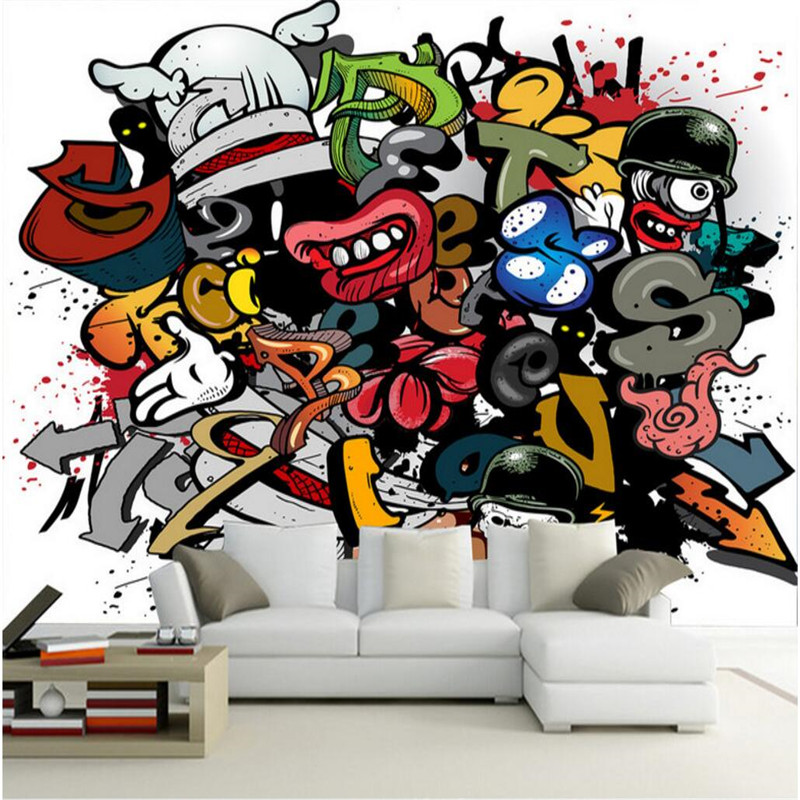 Custom Size Modern Wall Paper Living Room Background