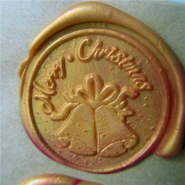 DIY Merry Christmas Bells customize your logo Name Box set personalized Letter/Sealing Wax /wedding Wax Seal Stamp Gold  Custom high qualiy customize embossing stamp your logo personalized embossing seal letter head setting wedding envelope card custom