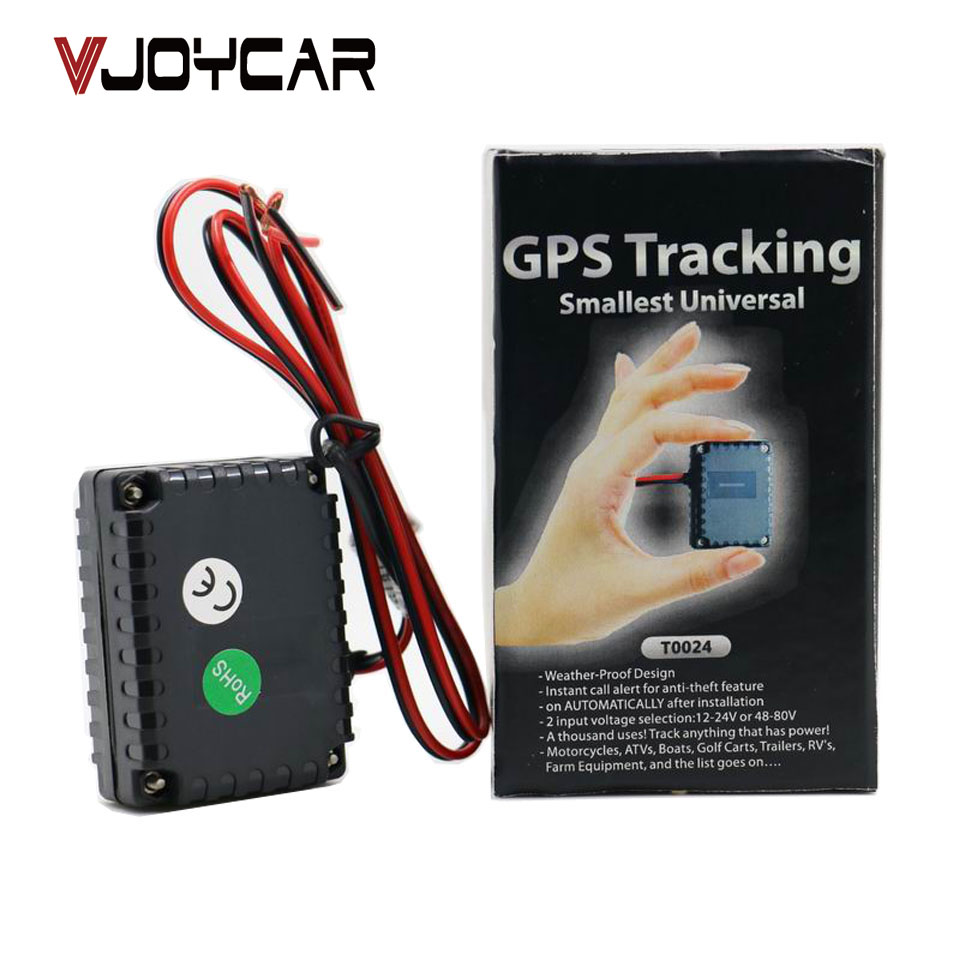 vjoycar t0024 smallest tracking device gps tracker for car moto auto truck electric bikes. Black Bedroom Furniture Sets. Home Design Ideas