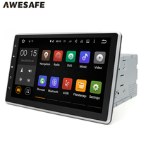 10 1 2 Din Car DVD Universal Radio Player Touch Screen Android 5 1 1 Support