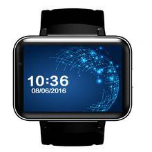 DM98 Смарт-часы MTK6572 Dual Core 2.2 дюймов HD IPS LED Экран 900 мАч Батарея 512 МБ оперативной памяти 4 ГБ ROM ОС Android 4.4 3 г WCDMA GPS WI-FI
