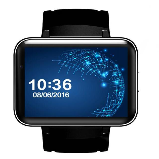 DM98 Smart watch MTK6572 Dual core 2.2 inch HD IPS LED Screen 900mAh Battery 512MB Ram 4GB Rom Android 4.4 OS 3G WCDMA GPS WIFI