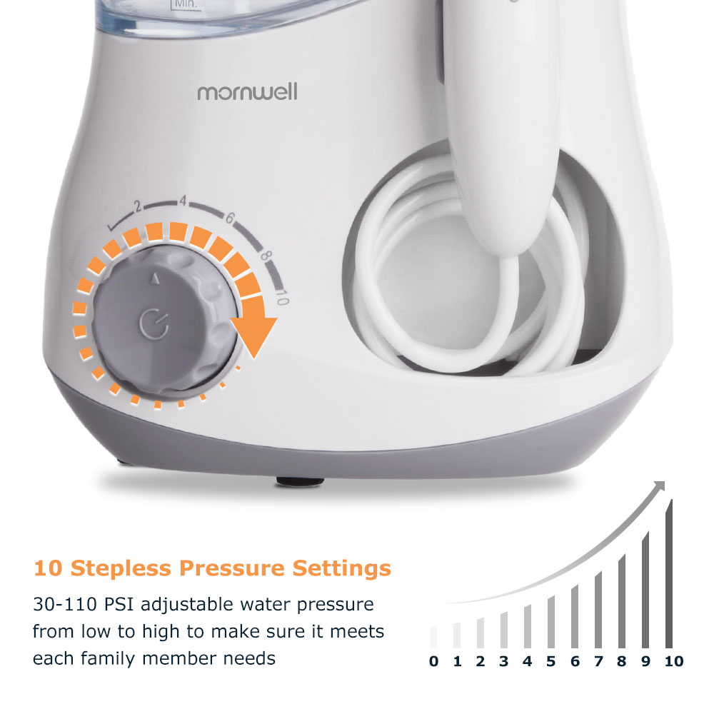 Image 2 - Mornwell Oral Irrigator Dental Water Flosser irrigator flosser Water Jet irrigador dental Family Oral Care-in Oral Irrigators from Home Appliances