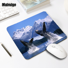 Mairuige The Dolphin Jumps Out of The Water Scenery Mousepad Beautiful Funny Animals Mouse Pad Mice Mat Pc Laptop Gaming Mats