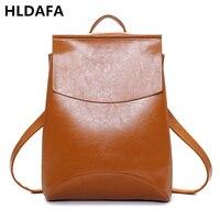 2017 Design PU Leather Backpack Women Backpacks For Teenage Girls School Bags Black Brand High Quality