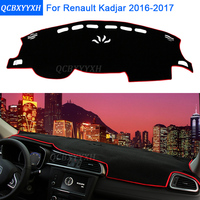 Car Styling Dashboard Protective Mat Shade Cushion Photophobism Pad Interior Carpet For Renault Kadjar 20162017 Auto