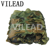 VILEAD 5M x 10M (16.5FT x 33FT) Woodland Digital Military Camouflage Netting Army Camo Net Sun Shelter for Hunting Camping Tent