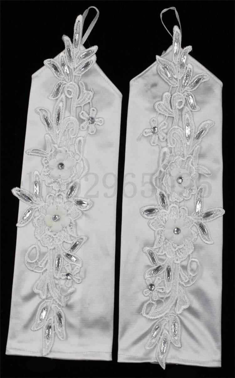 ZUOYITING Ақ шнурка ханшайымы жақтан - Үйлену керек-жарақтары - фото 2
