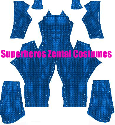 Superman Cosplay Costume 3D Printed Lycra Spandex Super Heroes Bodysuit Blue Muscle Zentai Undersuit Halloween Party
