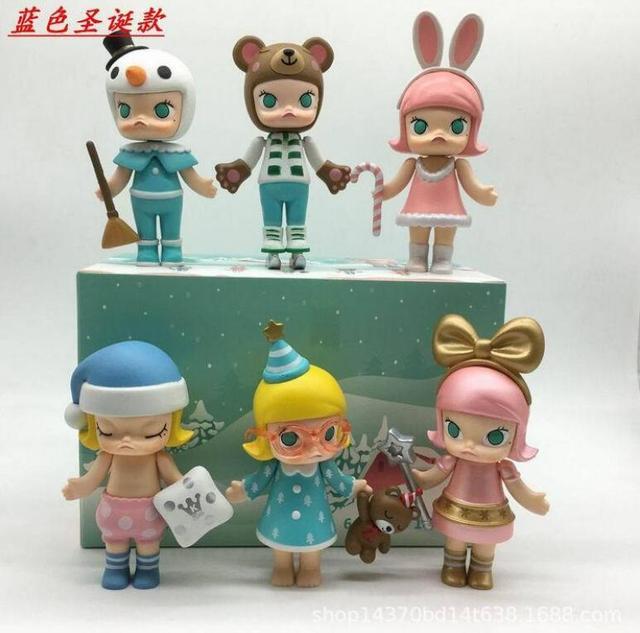 6 шт./партия Sonny Angel кукла мини-фигурки из ПВХ Коллекционная модель игрушки 8 см