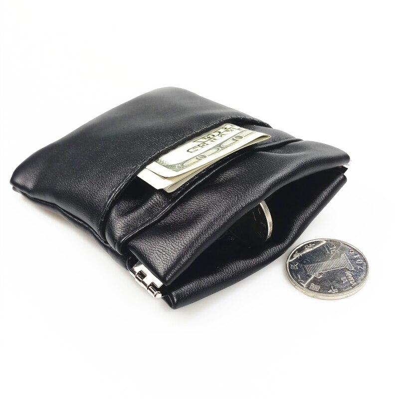 2019 Neue Mode Pu Leder Kleine Geldbörse Frauen Männer Kleine Mini Kurze Brieftasche Taschen Schlüssel Karte Halter Solid Black Business Diversifizierte Neueste Designs