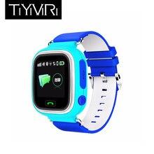 Niños inteligentes reloj inteligente Q90 GPS posicionamiento teléfono 1.22  pulgadas táctil SOS Smart Watch niños relojes 0a8a71ddac6b