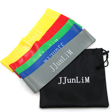 Quality Rubber resistance bands set Fitness workout elastic training band for Yoga Pilates band crossfit bodybuilding exercise(China)