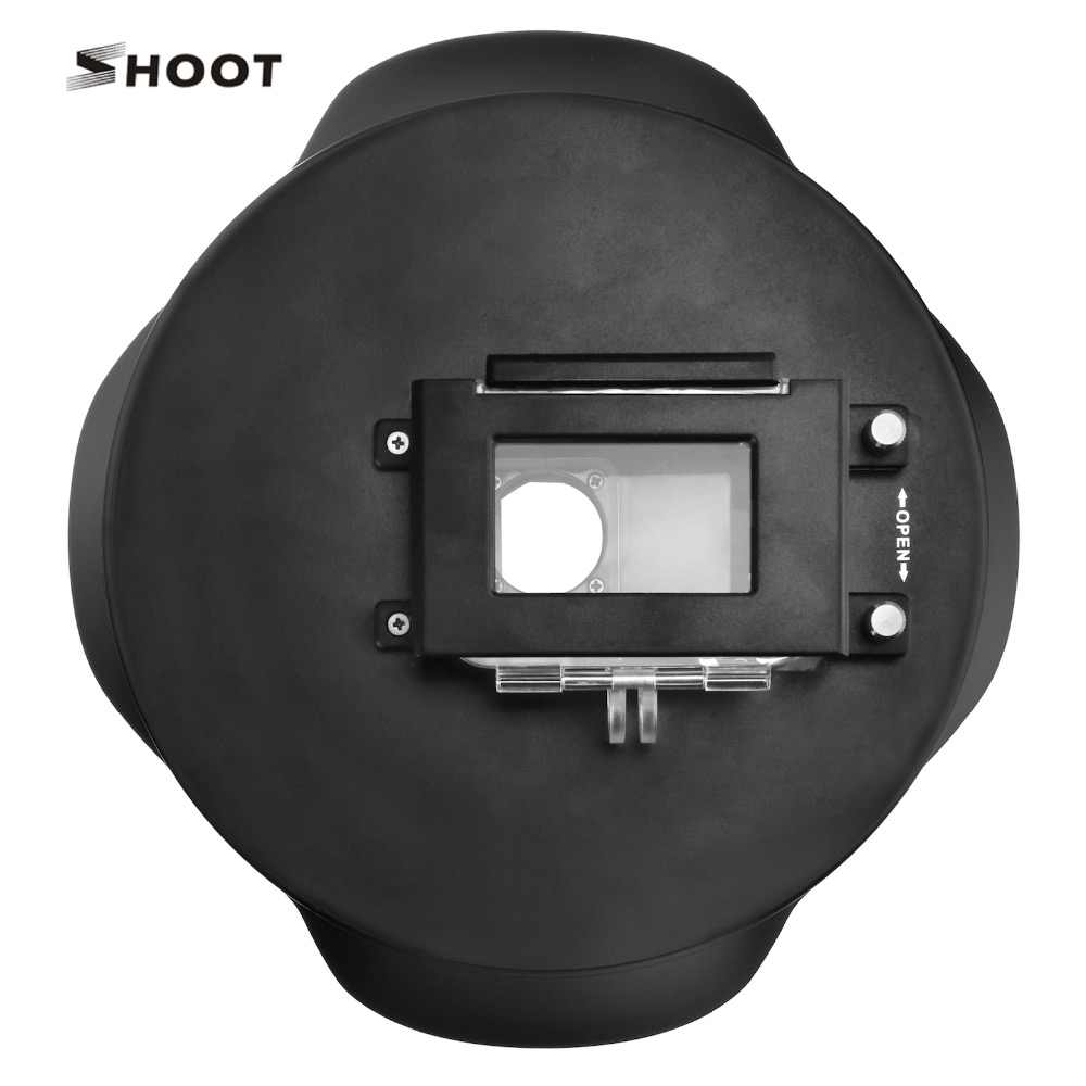 Buy Original Shoot Brand 6 Inch Waterproof Dome Xiaomi Yi 2 Gen 4k Port For Action Camera Underwater Photography Accessary From Reliable