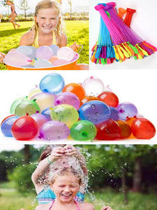 6sets Water Bomb Balloons Fast Filling Magic Ballon Ball Kids Adult Children Pool Prank War Game Summer Outdoor Beach Toy Party