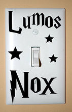Harry Potter Vinyl Wall Sticker Lumos Nox Light Switch Decals Sticker Home Switch Creative Decor of 3pcs per set(China)