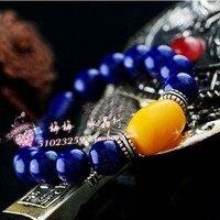 Natural lapis lazuli bracelets crystal bracelet accessories male jewelry popular lazing