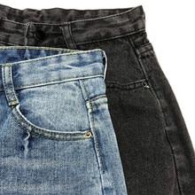 Autumn Winter Women High Waist Jeans Mujer Long Harem Pants Women Casual Boyfriend Jeans For Women Denim Wide Leg Trousers C4913