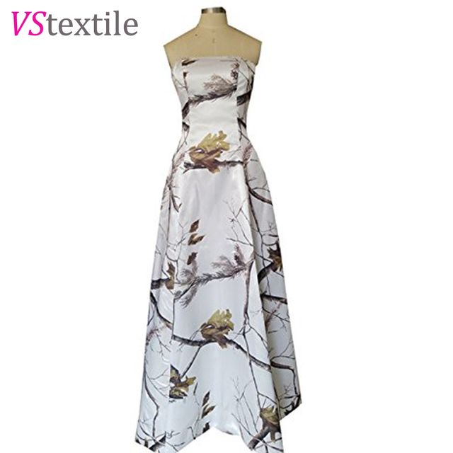 7fb3293311faf realtree white camouflage prom dresses 2018 long vestido de festa longo camouflage  party dresses free shipping