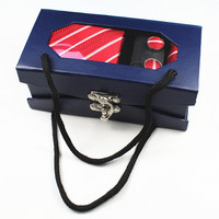 New Fashion Cravatta Sposo Cravatta Gentleman Set Matrimonio Festa Di Compleanno regali Cravatta Per Gli Uomini Di Seta Splendida Gravata Sottile Freccia Cravatta Set