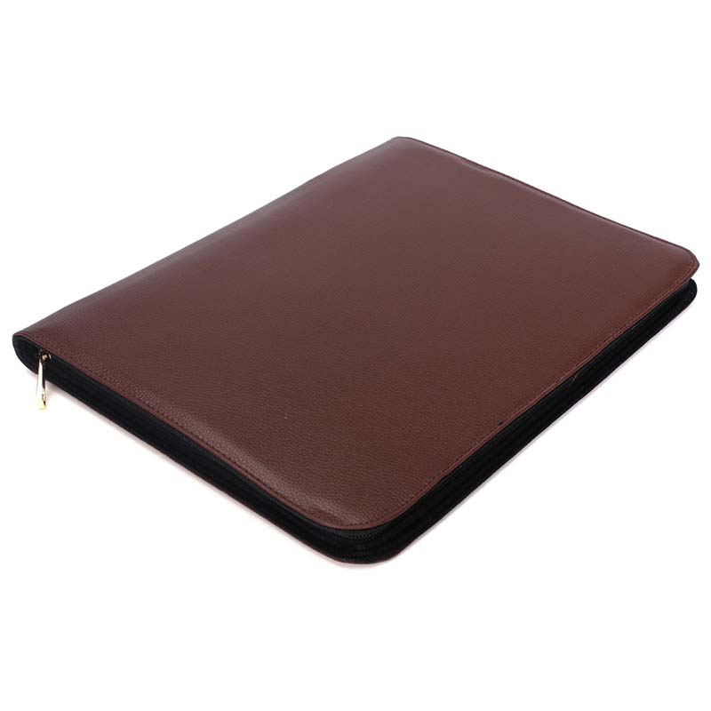 1PC brown Color Fountain Pen PU Leather Case Storage Holder For 48 Pens