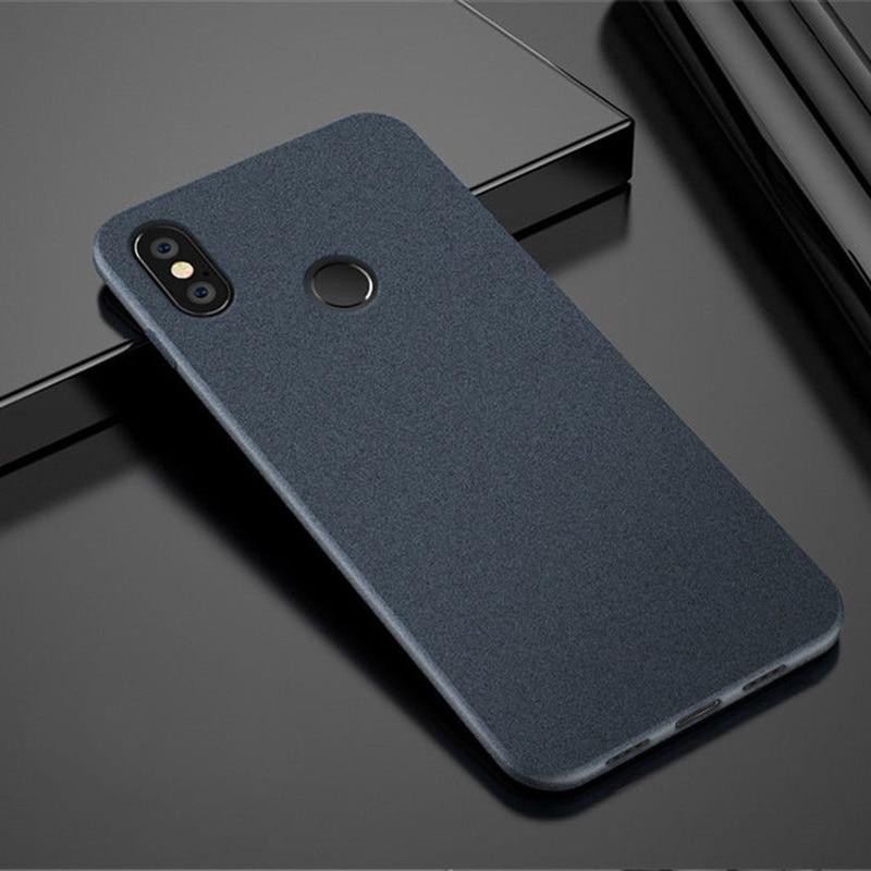 For Xiaomi Pocophone F1 5X/A1 A2/6X MIX 2S Max 3 Redmi Note 5 5A 6 6A 8 Plus Pro Prime Shockproof Matte Silicone TPU Case Cover