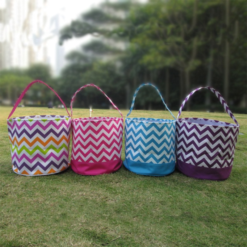 Venta al por mayor Blanks DOMIL Chevron Easter Baskets Diseño - Bolsos - foto 2
