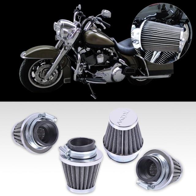 Nuevo 4 unids reemplazo clamp-on 39mm universal de la motocicleta filtros de aire limpiador de admisión vaina fit para honda cb750 cb750f suzuki gs550