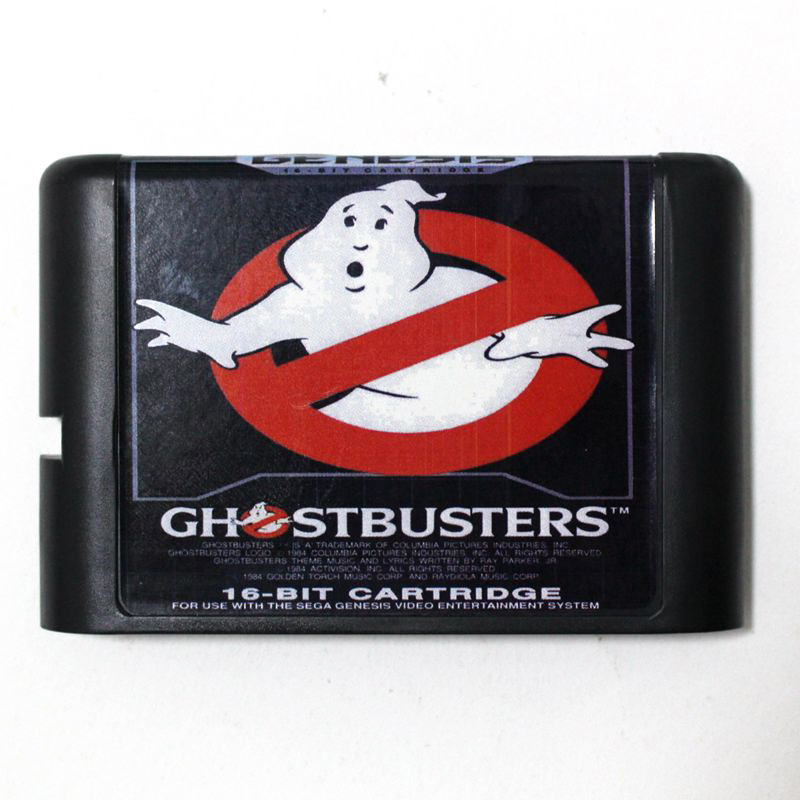 Ghostbusters for 16 bit Sega MD game Cartridge for Megadrive Genesis system image