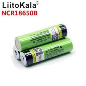 Image 5 - 8PCS liitokala 18650 3400mah חדש מקורי NCR18650B 3200 3400 סוללת ליתיום לפנס