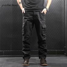 Cotton Mens Jogger Autumn Hot sales army style men cargo pants Men Camouflage Military Pants Loose Comfortable Trousers jogger цена 2017