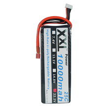 XXL 10000mah 22.2V 6s 25C Max 50C Toys & Hobbies For Helicopters RC Models akku Li-polymer Battery