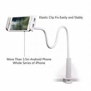 Image 4 - Support de tablette pour téléphone portable Portefeuille support paresseux col de cygne 360 bras Long pour iPhone iPad mini air 2 Nintendo support de montage pour commutateur