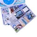 10 pçs/lote Atualizado Versão Avançada Starter Kit DIY para Arduino UNO R3 Com CD Tutorial