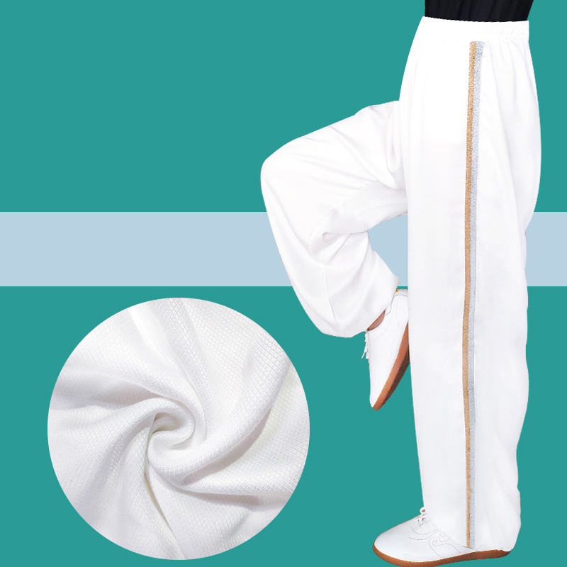 Yoga Pants Fitness Clothing Gym Exercise Wushu Tai Chi Kungfu for Women & Men Sports Pants  Martial Arts Clothes