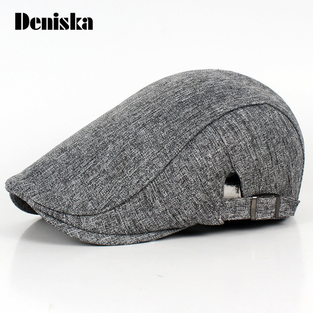 f2cc3ffbb9120 British Style Unisex Solid Cabbie Hats Caps Hip Hop Longshoreman`s Cap Hat  Ivy Irish Beret Visor Cap For Men and Women