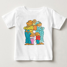 kid t shirts children babe bear Short sleeve tshirt boy and girl A favorite animated figure A lovely bear summer tops clothes MJ thelma inman a boy called kid