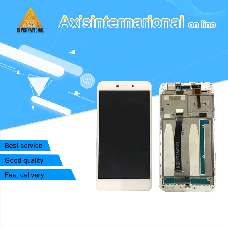 Axisinternational For 5.0 Xiaomi Redmi 4A LCD screen display+touch panel digitizer with frame for Redmi 4A dispaly replacement Axisinternational For 5.0 Xiaomi Redmi 4A LCD screen display+touch panel digitizer with frame for Redmi 4A dispaly replacement