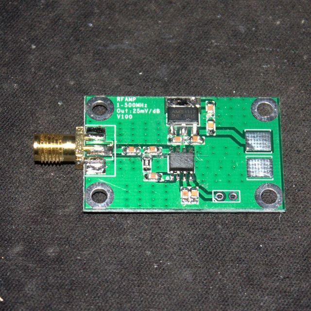 Medidor De Energia RF Sinal UHF 1-500 Mhz HF-74dbm a + 18dBm Logarítmica Detectar