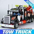 Lepin 20020 Technic Mecánico Serie Ultimate El Estilo Americano de Contenedores Pesados Camiones Conjunto 8285 Blcoks construcción Ladrillos Juguetes